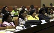 Mujeres en el Parlamento cubano